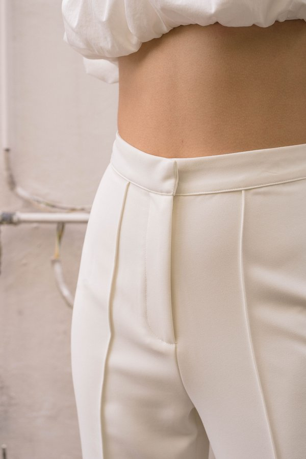 Badgal Pants in White