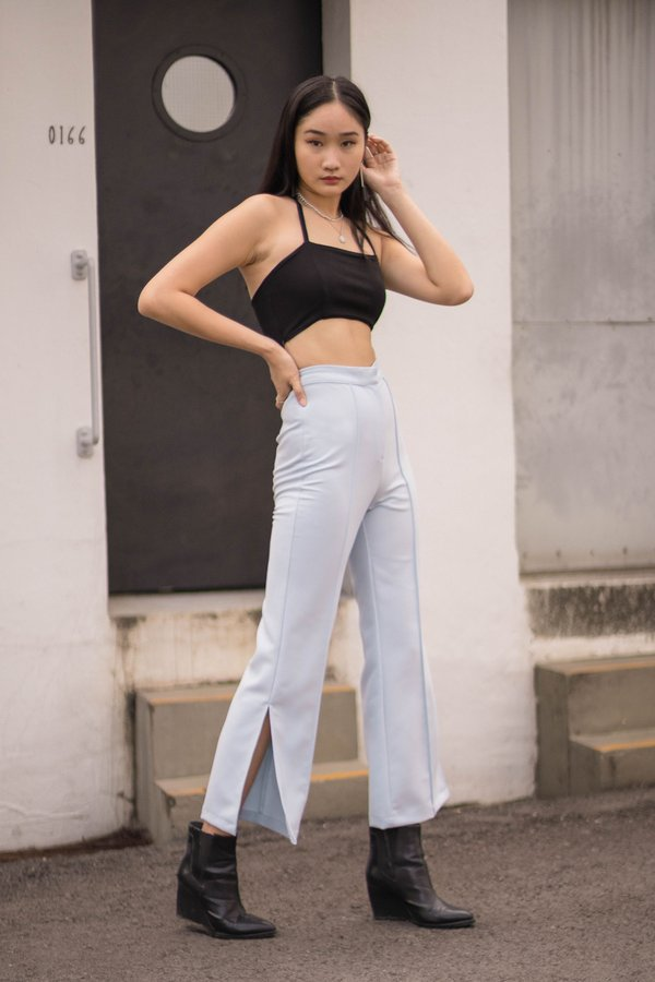 Badgal Pants in Minor Blue