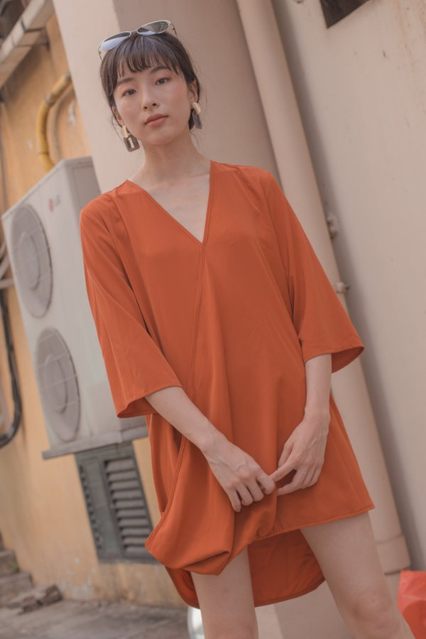 Rise Up Dress in Marmalade