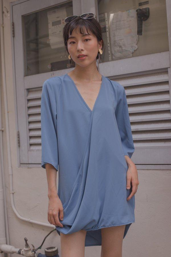 Rise Up Dress in Carolina Blue