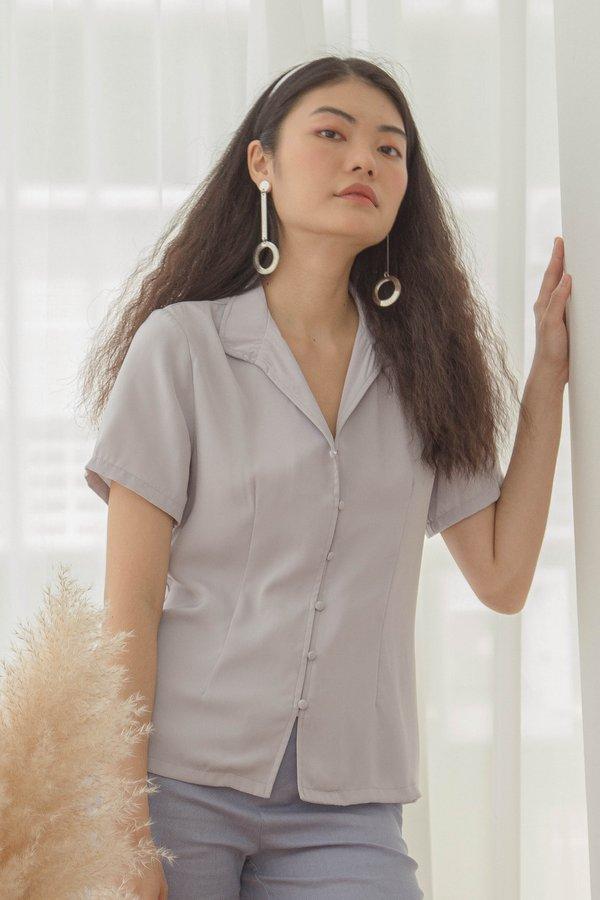 Front Line Shirt in Wisp Grey