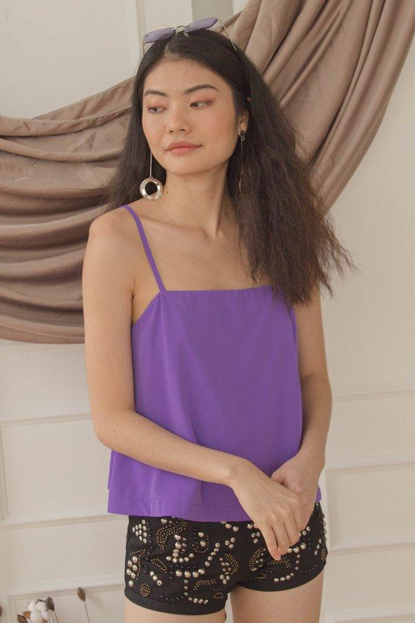 Let Loose Cami in Iris Purple
