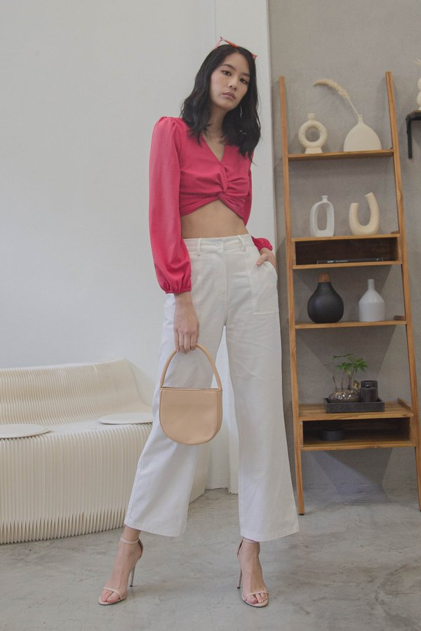 In Too Deep Pants in White