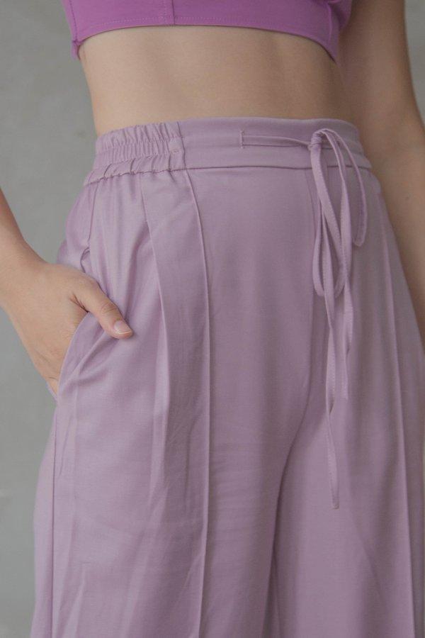 WFH Pants in Dusty Purple
