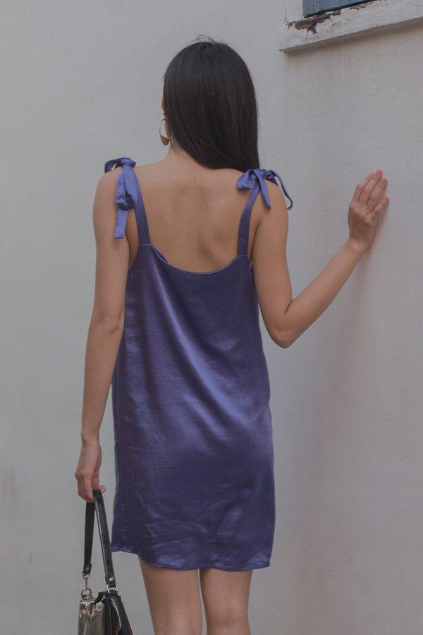 Happy Hour Dress in Light Indigo