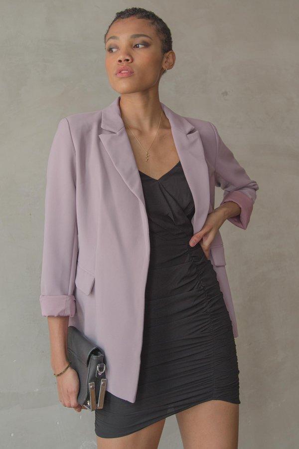 Dominate Blazer in Heather Purple