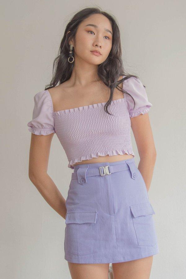 Smitten Top in Precious Purple