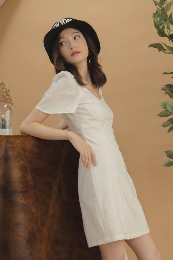 Sweet Talk Dress in White