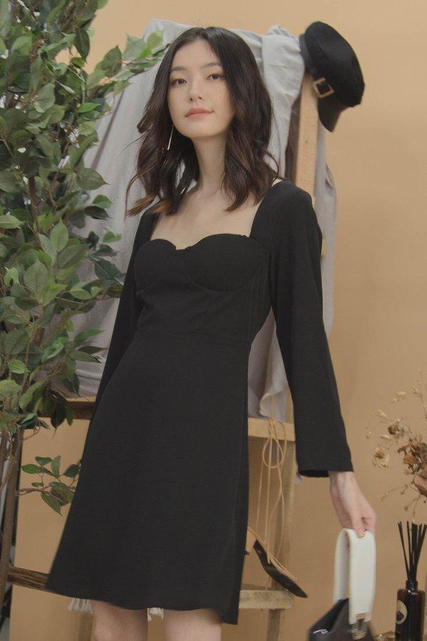 Cupid's Dress in Black
