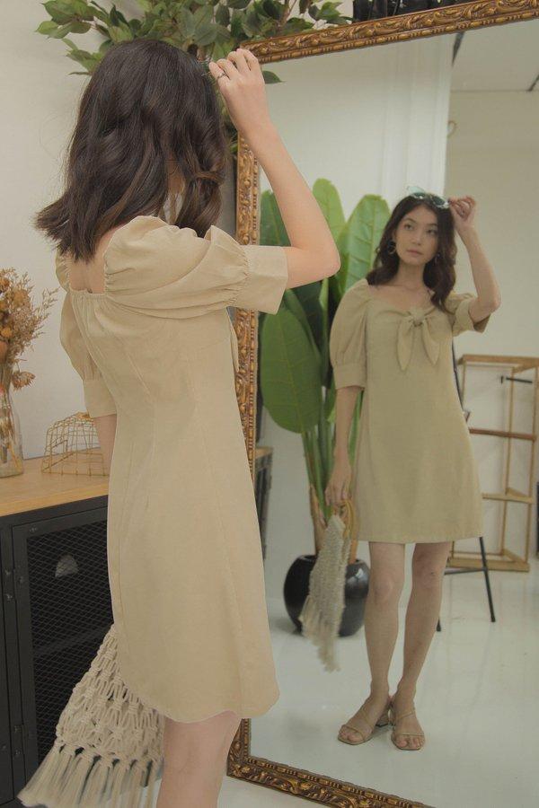 Dream On Dress in Summer Beige