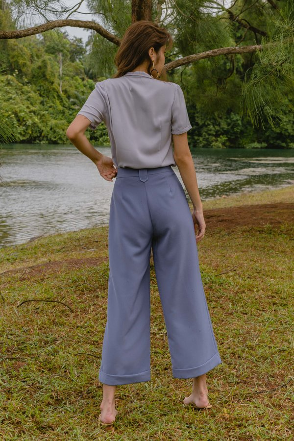 Vocational Pants in Deep Periwinkle Blue