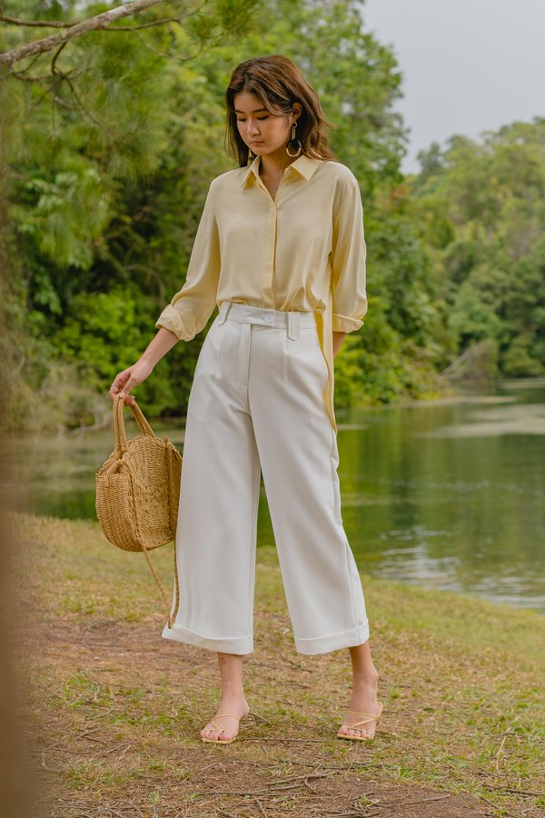 Vocational Pants in White