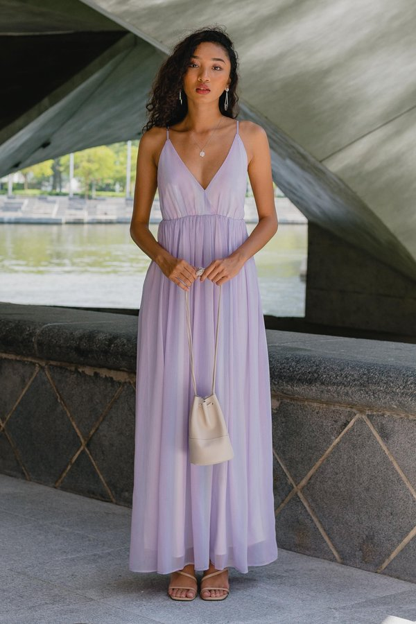 Once Upon A Maxi in Fairy Purple