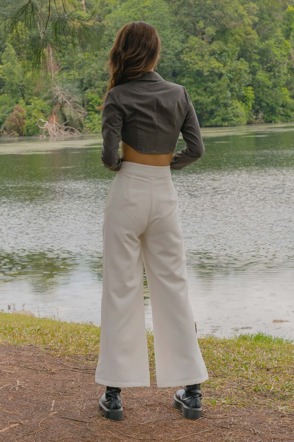 Hustler Pants in White