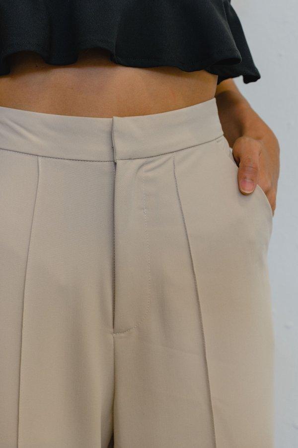 Good To Go Pants in Crepe Beige