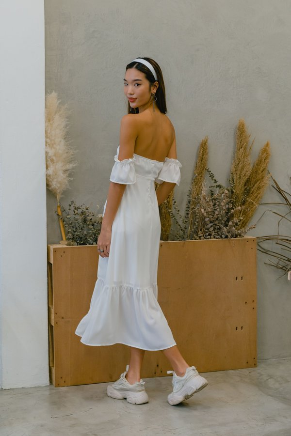 Moments Midi in White