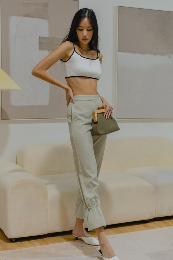 All The Better Pants in Pale Green