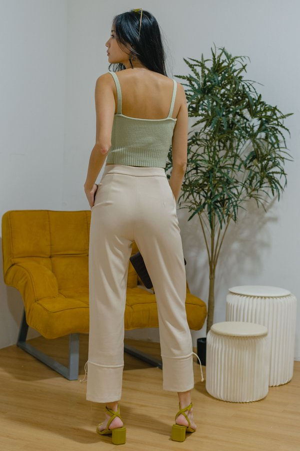 All The Better Pants in Rice Beige