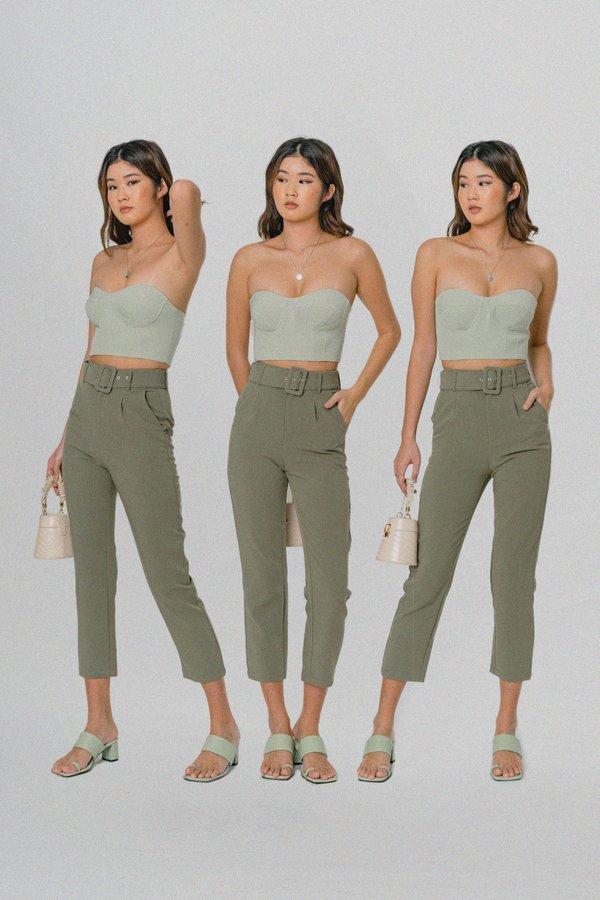 Collective Pants in Terrain Green
