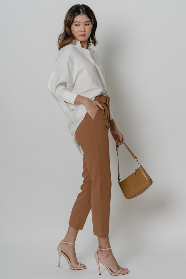 Collective Pants in Rust Brown