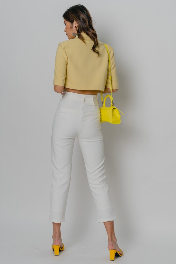Collective Pants in White