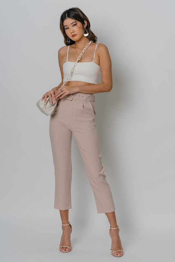 Collective Pants in Dusty Pink