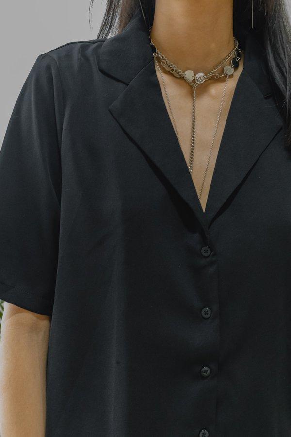 *BACK ORDER* Bring It On Dress in Black