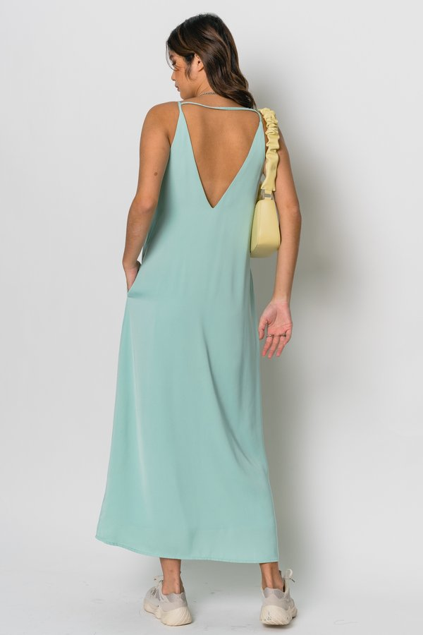 Back On Track Maxi in Mint Green