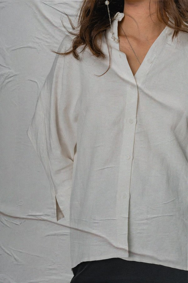 Carefree Shirt in White