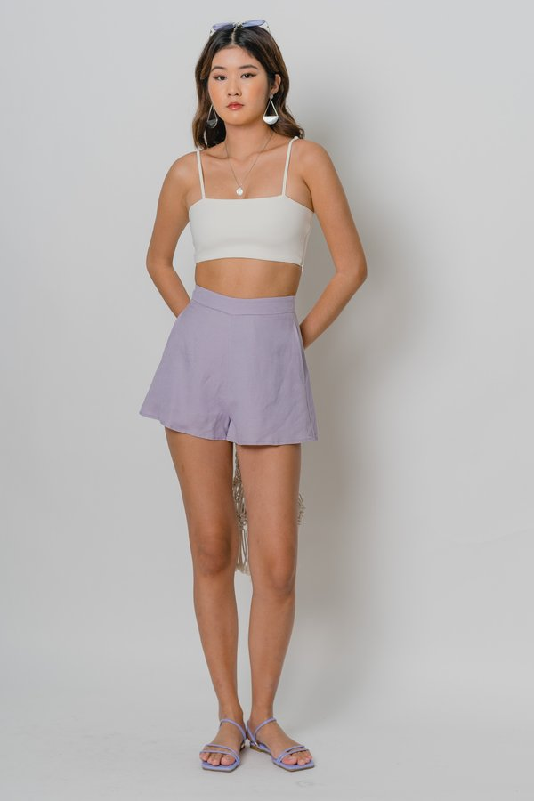 Free And Easy Shorts in Petal Purple