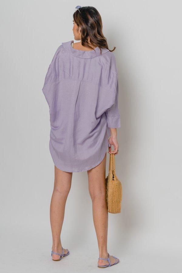 Carefree Shirt in Petal Purple