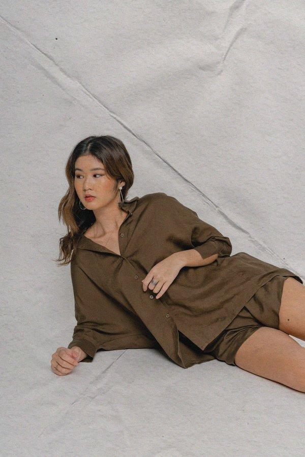 Carefree Shirt in Brown