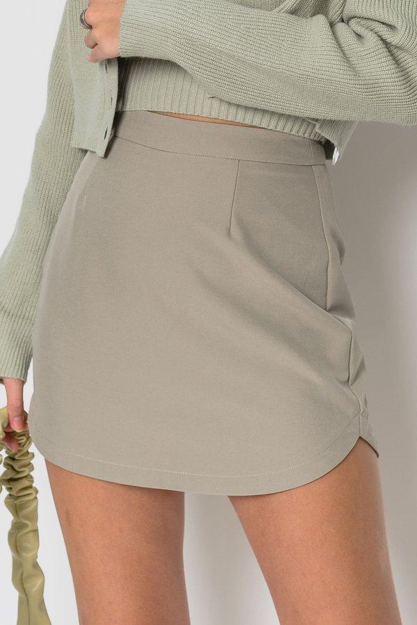 Assembly Skirt in Soft Green