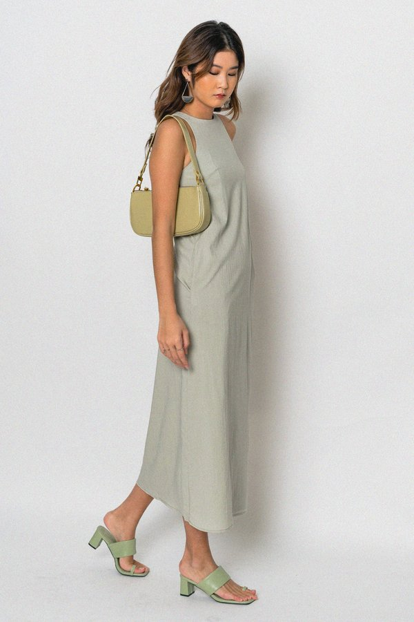 Mindless Maxi in Subtle Green