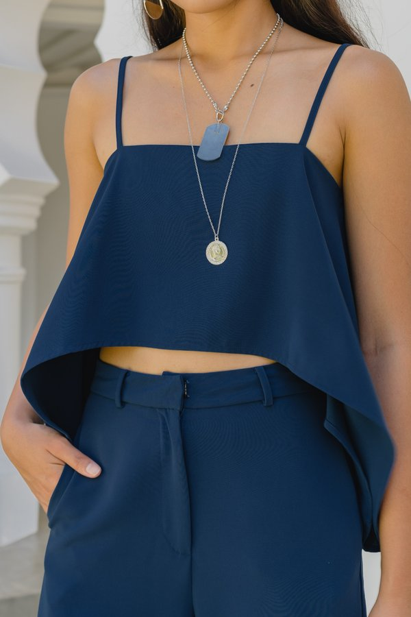 Two Times Top in Deep Blue