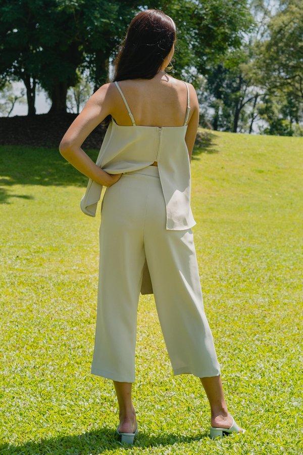 Two Step Pants in Wisp Green