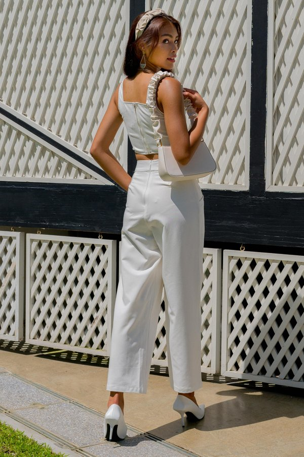 Incline Pants in White