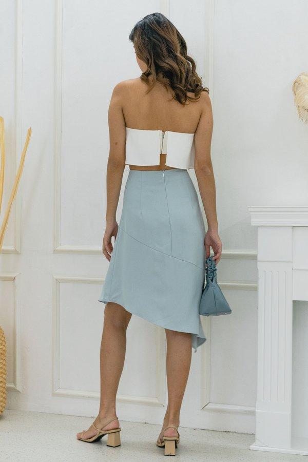 Cutting Edge Skirt in Soft Blue