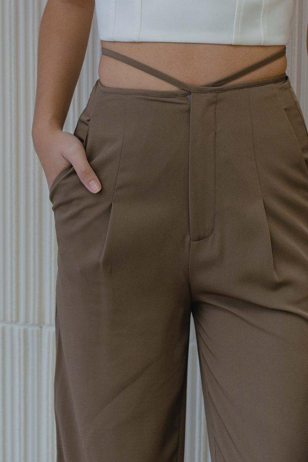 Virgo Pants in Harvest Brown