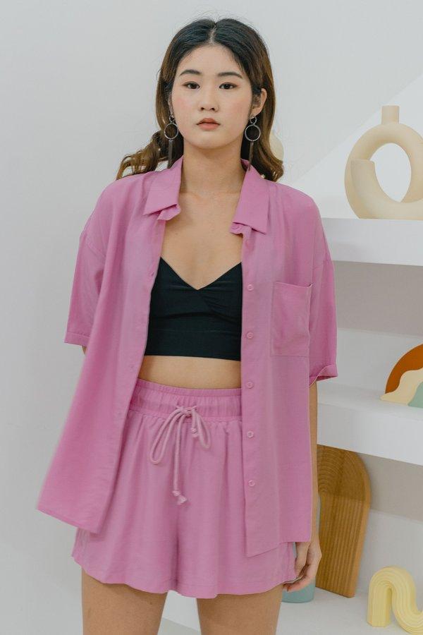 Idler Shirt in Diva Pink