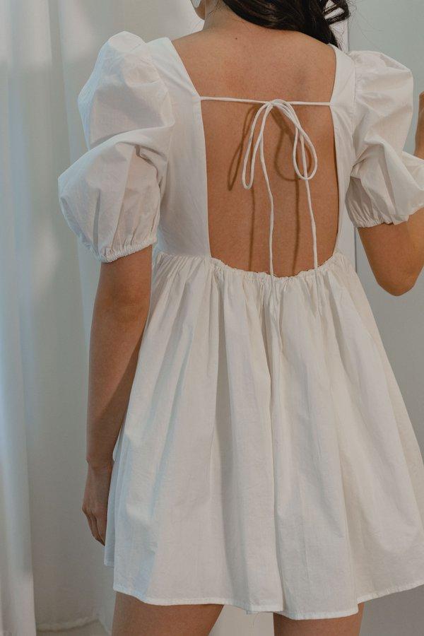 Dream Girl Dress in White