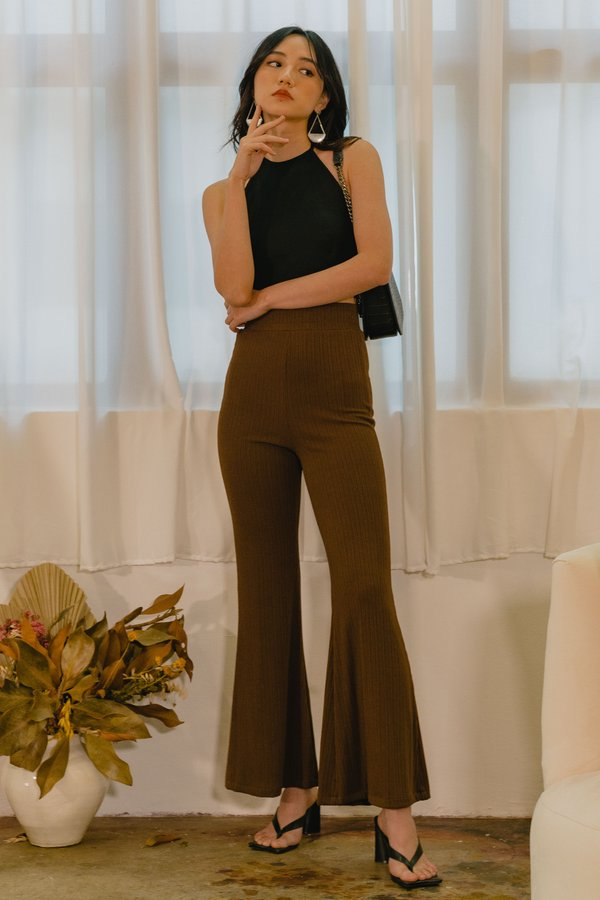 Let's Groove Pants in Antique Brown