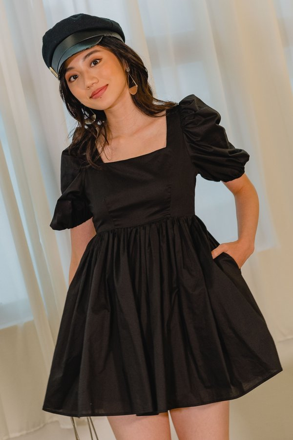 Dream Girl Dress in Black