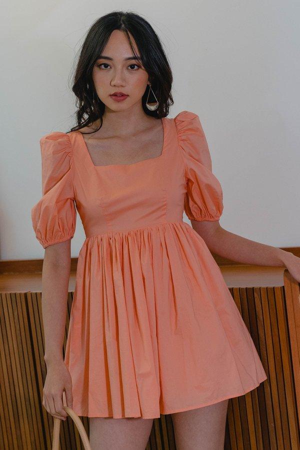 Dream Girl Dress in Light Coral
