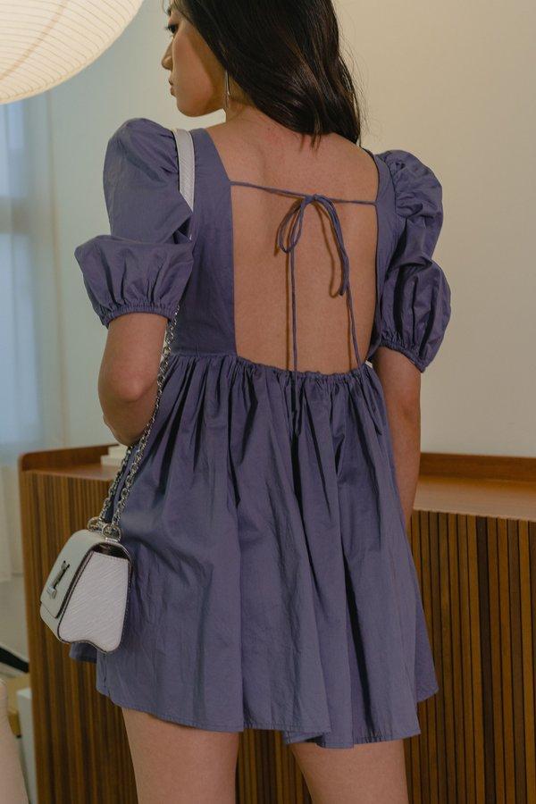 Dream Girl Dress in Deep Purple