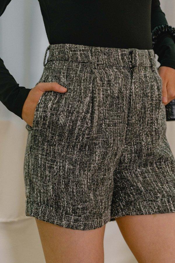 Lovesick Shorts in Black