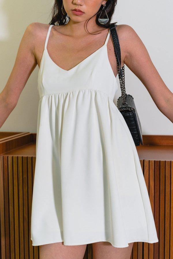 18 Again Dress in White